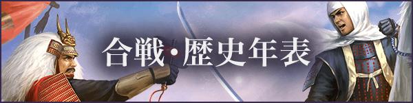 日本史/合戦・歴史年表